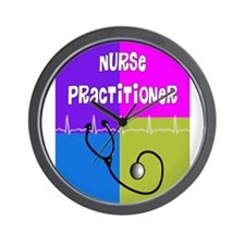 nurse practitioner case 2.PNG Wall Clock