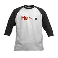 He is greater than me Tee