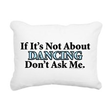 Dancing Rectangular Canvas Pillow