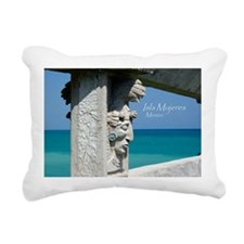 Mayan Relief Rectangular Canvas Pillow