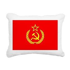 New USSR Flag Rectangular Canvas Pillow