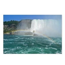 Bridal Falls and Rainbow Postcards (Package of 8)