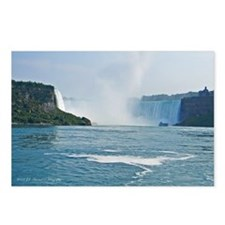 Horseshoe Falls and Boat Postcards (Package of 8)