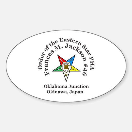 Frances M. Jackson Chapter # 46 OES PHA Decal