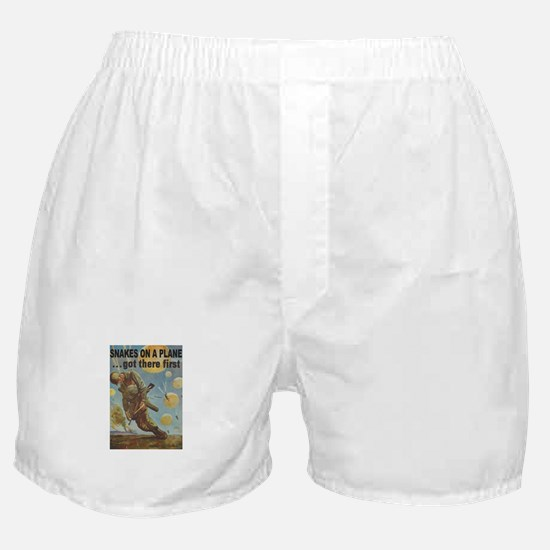 Snakes on a Plane Boxer Shorts