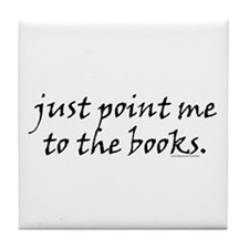 just point me Tile Coaster