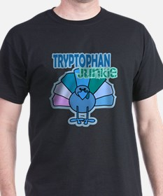 Thanksgiving Turkey Tryptophan Junkie T-Shirt