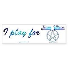 """""""Team Wicca"""" Bumper Bumper Sticker"""