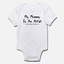 Mommy is an Artist Infant Creeper