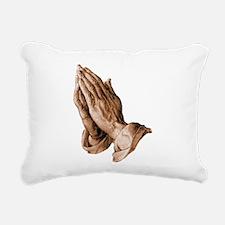 Durer's Praying Hands Rectangular Canvas Pillow