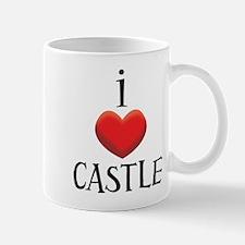 i love CASTLE.png Mug