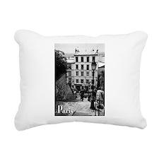 Montmartre Rectangular Canvas Pillow