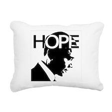 Obama hope Rectangular Canvas Pillow