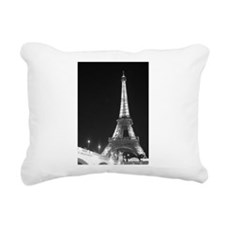 Scenic Paris Rectangular Canvas Pillow