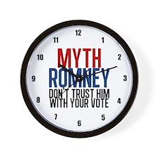 Myth Romney Wall Clock