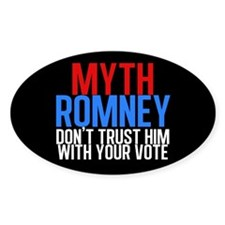 Myth Romney Decal