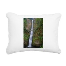 Multnomah Falls Rectangular Canvas Pillow