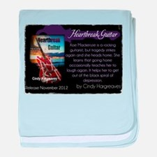 Heartbreak Guitar promo baby blanket