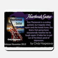 Heartbreak Guitar promo Mousepad