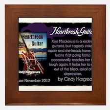 Heartbreak Guitar promo Framed Tile