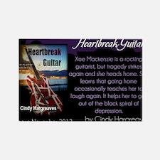 Heartbreak Guitar promo Rectangle Magnet