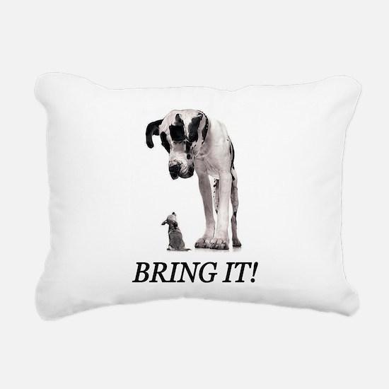 Bring It! Rectangular Canvas Pillow