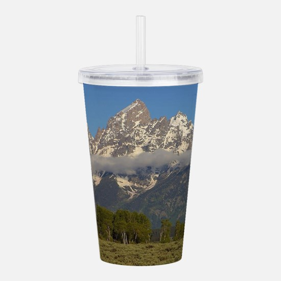 Grand Teton National P Acrylic Double-wall Tumbler