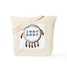 Oklahoma Centennial Shield Tote Bag