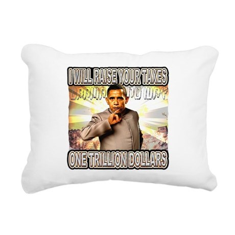 anti barack obama Rectangular Canvas Pillow