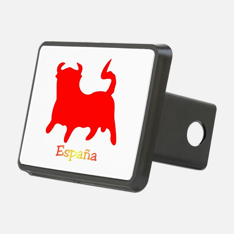 Red Spanish Bull Hitch Cover