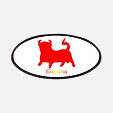 Red Spanish Bull Patches