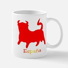 Red Spanish Bull Mug