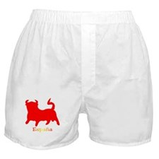 Red Spanish Bull Boxer Shorts