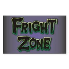 Fright Zone Halloween Decal