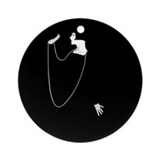Louise Brooks 1920s Glamour Ornament (Round)