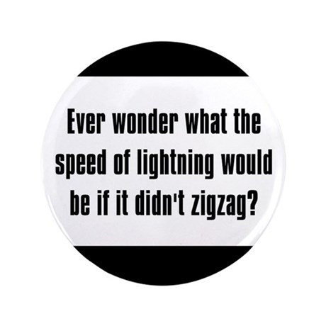 Ever wonder what the speed of lightening would be