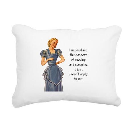 """Diva"" Rectangular Canvas Pillow"
