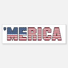 'Merica Bumper Bumper Sticker