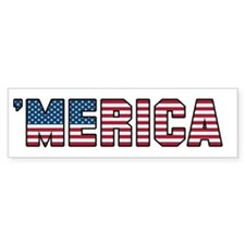'Merica Bumper Sticker