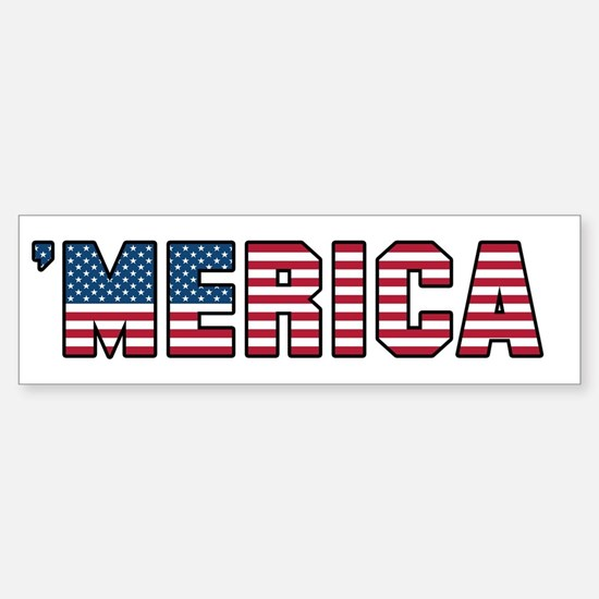 'Merica Sticker (Bumper)
