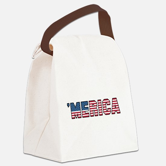 'Merica Canvas Lunch Bag