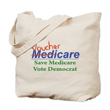 Medicare Will Become VoucherCare Tote Bag