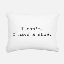 Cute Theatre geek Rectangular Canvas Pillow