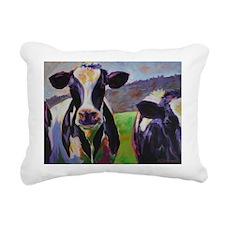 Cows Rectangular Canvas Pillow