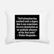 Cute Cyborg Rectangular Canvas Pillow
