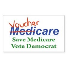 Medicare Will Become VoucherCare Decal