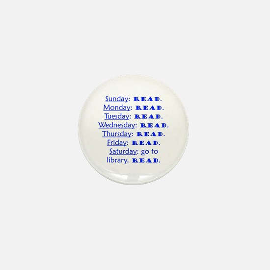 weekly schedule Mini Button