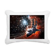Hubble Service Mission 4 Rectangular Canvas Pillow
