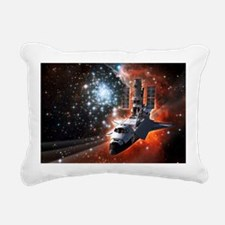 Hubble Service Mission 4 Rectangular Canvas Pillow