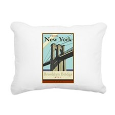 Travel New York Rectangular Canvas Pillow